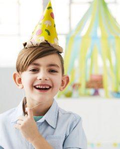 تزیین خانه برای جشن تولد-کلاه تولد-کلاه قیفی