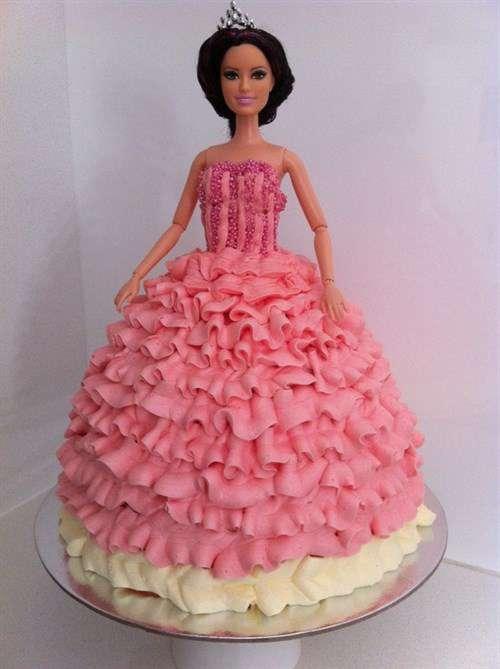 مدل كيك تولد دخترانه - عكس كيك تولد دخترانه - كيك تولد پرنسس - كيك تولد عروس