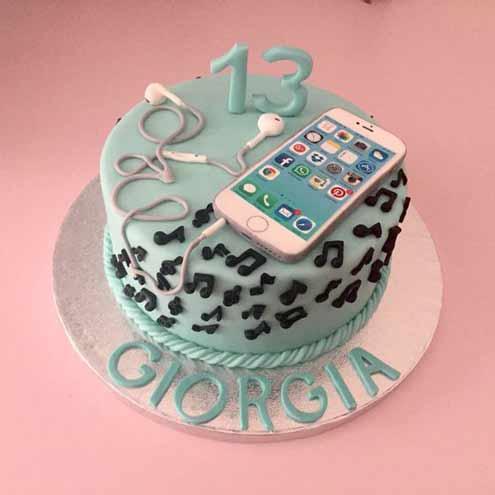 مدل کیک تولد دخترانه جدید کیتی