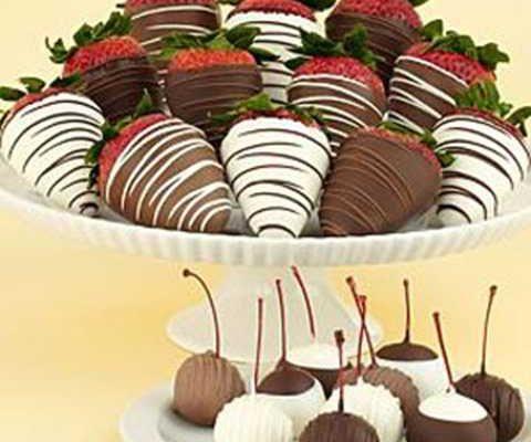 غذاها و خوراکی های جشن تولد کودکان - شکلات - خوراکی شکلاتی جشن تولد بچه ها