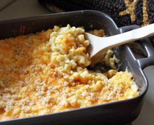 غذاها و خوراکی های جشن تولد کودکان - ماکارونی و پنیر - غذای جشن تولد کودکان - غذای تولد بچه ها