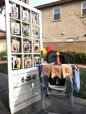 جشن تولد یک سالگی- تولد یکسالگی- تزیین تولد یک سالگی- جشن تولد کودک یک ساله- تزیین جشن یک سالگی- تزیین محل جشن با عکسهای نوزاد