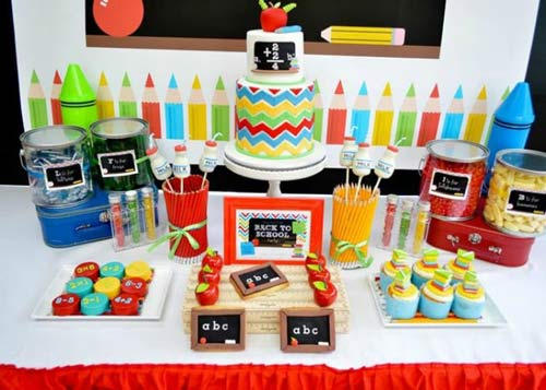 تم جشن تولد کودک - تم تولد کودکان - تم مدرسه - تم جشن مدرسه رفتن