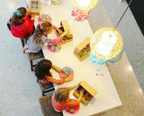 تم جشن تولد کودک - تم جشن تولد کیک پزی - پخت کیک در جشن تولد