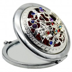 هدیه تولد برای خانم ها-آینه جیبی- هدیه زیبا و خاص برای خانم ها