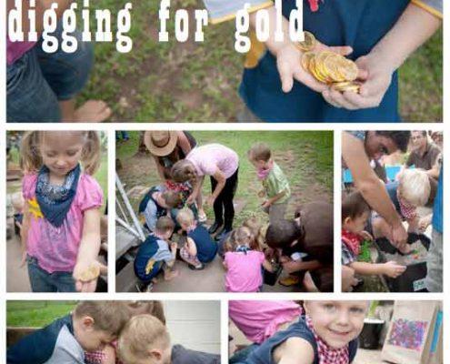 تم تولد کودک خردسال - بازی های جشن تولد کابویی - بازی کشف گنج