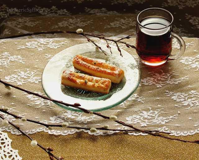 طرز تهیه شیرینی زبان خانگی - طرز تهیه خمیر هزار لا - شیرینی عید نوروز