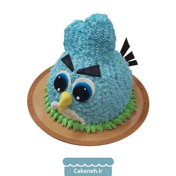 سفارش کیک تولد - خرید اینترنتی کیک تولد - کیک تولد اصفهان - کیک تولد پرنده عصبانی