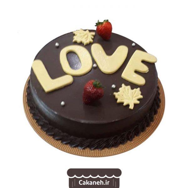 کیک تولد اصفهان - سفارش کیک تولد ویترینی شکلاتی - سفارش کیک تولد شکلاتی - خرید اینترنتی کیک تولد