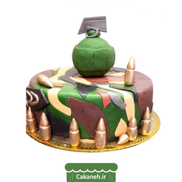 کیک تولد اصفهان - سفارش اینترنتی کیک تولد - خرید آنلاین کیک تولد - کیک خانگی - کیک پایان خدمت