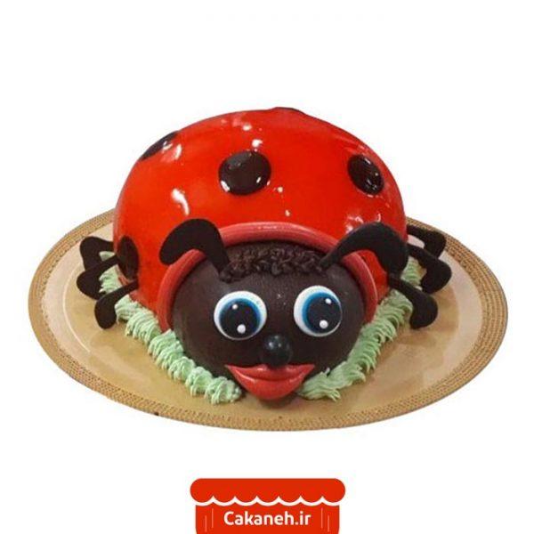 کیک تولد اصفهان - سفارش کیک تولد - سفارش آنلاین کیک تولد - سفارش کیک تولد اصفهان - کیک حیوانات - کیک کفشدوزک