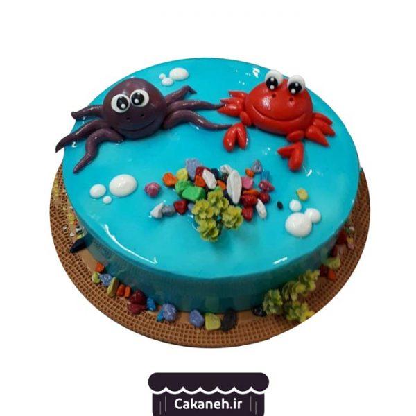 سفارش کیک تولد - خرید اینترنتی کیک تولد - کیک تولد اصفهان - کیک تولد دریاچه