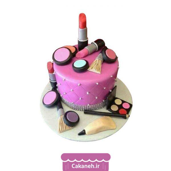 کیک تولد اصفهان - کیک تولد لوازم آرایشی - سفارش آنلاین کیک تولد اصفهان - خرید اینترنتی کیک لوازم آرایش