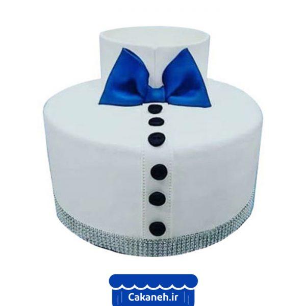 کیک تولد مردانه - کیک تولد پسرانه - کیک تولد پیراهن - سفارش کیک تولد - کیک تولد در اصفهان