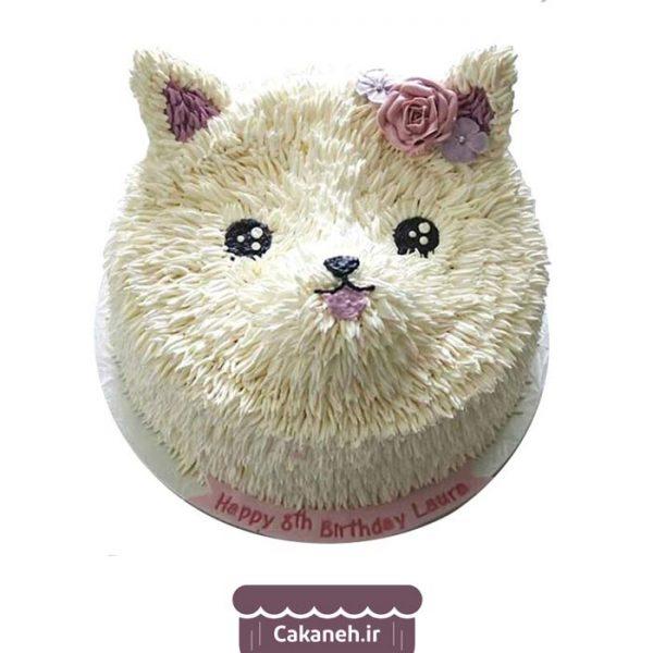 کیک تولد اصفهان - سفارش اینترنتی کیک تولد گربهای - کیک تولد گربه ملوس - خرید اینترنتی کیک تولد