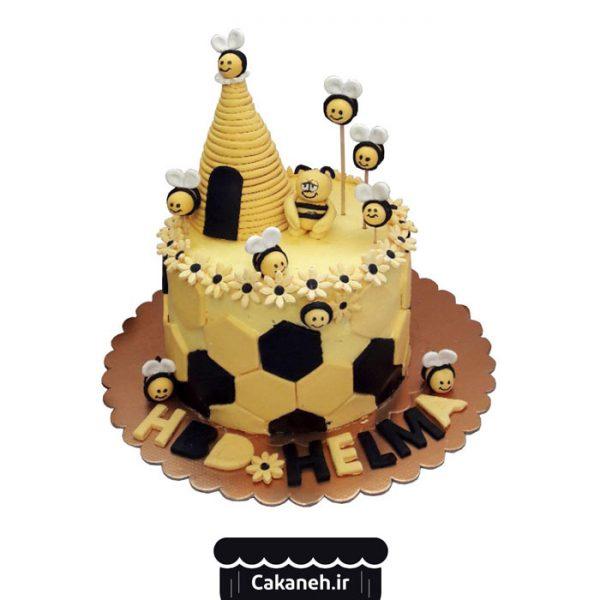 کیک تولد اصفهان - سفارش کیک تولد - سفارش کیک تولد زنبور عسل- خرید اینترنتی کیک تولد - کیک تولد زنبور عسل