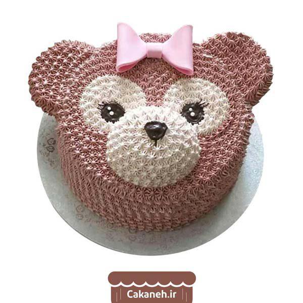 کیک تولد اصفهان - خرید آنلاین کیک تولد خرسی - سفارش اینترنتی کیک تولد در اصفهان - کیک تولد خرس کوچولو