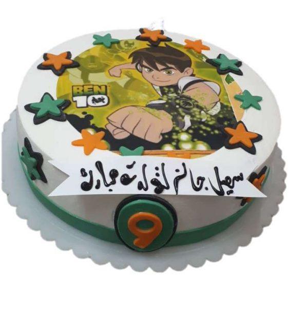 سفارش کیک تولد - خرید اینترنتی کیک تولد - کیک تولد - کیک تولد پسرانه - کیک تولد بن تن - کیک اصفهان