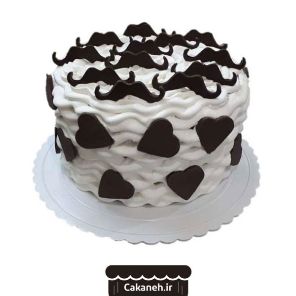 سفارش کیک تولد - خرید اینترنتی کیک تولد - کیک تولد - کیک تولد پسرانه - کیک تولد سبیل - کیک اصفهان