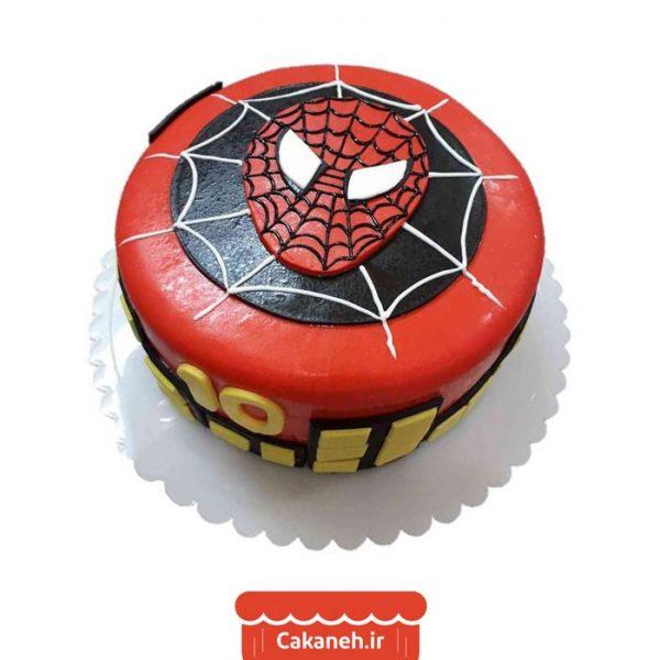 سفارش کیک تولد - خرید اینترنتی کیک تولد - کیک تولد اصفهان - کیک تولد مرد عنکبوتی