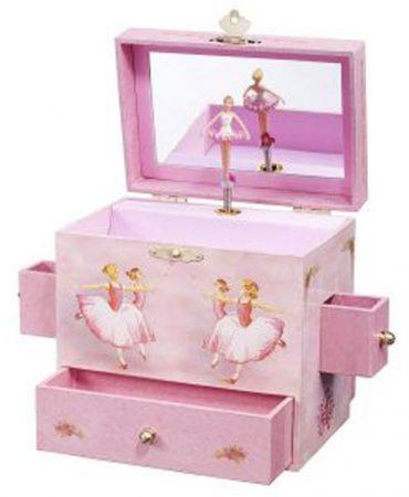 کادو تولد برای دختر - کادو تولد دخترانه - کادو تولد برای دختر جوان - کادو تولد برای دختر نوجوان - جعبه زیورآلات موزیکال