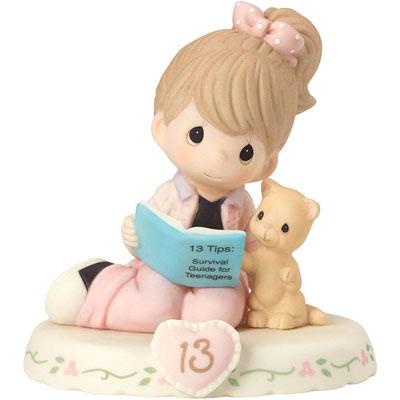 کادو تولد برای دختر - کادو تولد دخترانه - کادو تولد برای دختر نوجوان - کادو تولد برای دختر جوان - مجسمه چینی