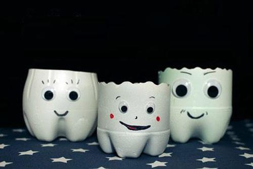 جشن دندونی - تزیین جسن دندونی - ایده برای جشن دندونی - ظرف خوراکی جشن دندونی