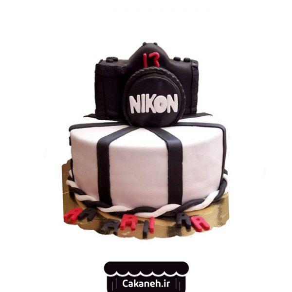 کیک دوربین - کیک خانگی - سفارش کیک تولد - خرید اینترنتی کیک تولد - کیک تولد اصفهان