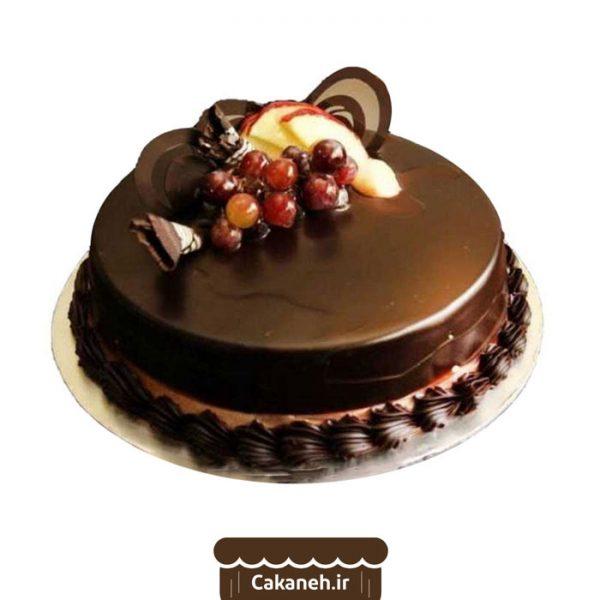 کیک شکلاتی - کیک خانگی - سفارش کیک تولد - خرید اینترنتی کیک تولد - کیک تولد اصفهان