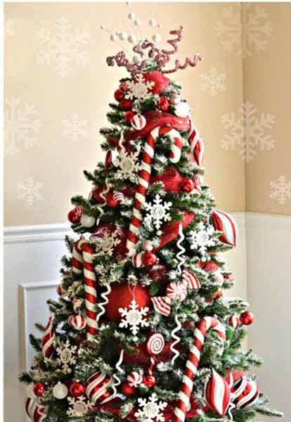 تزیین درخت کریسمس7