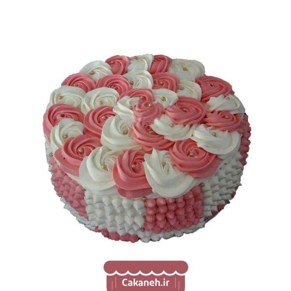 کیک شکوفه - کیک زنانه - کیک دخترانه - کیک خانگی - سفارش کیک تولد - خرید اینترنتی کیک تولد - کیک تولد اصفهان