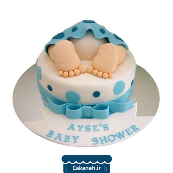کیک تولد نوزاد - کیک نوزاد - کیک تولد - سفارش کیک تولد - کیک تولد در اصفهان