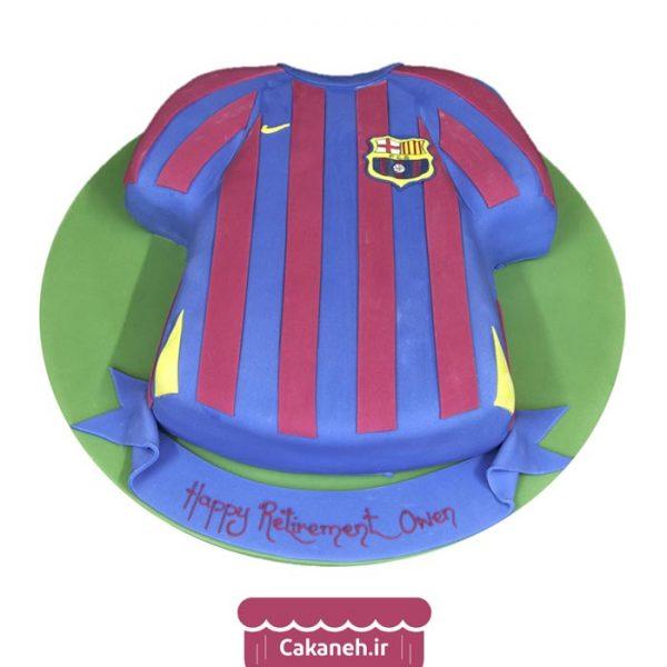 کیک تولد پسرانه - کیک فوتبالی - کیک تولد - سفارش کیک تولد - کیک تولد در اصفهان