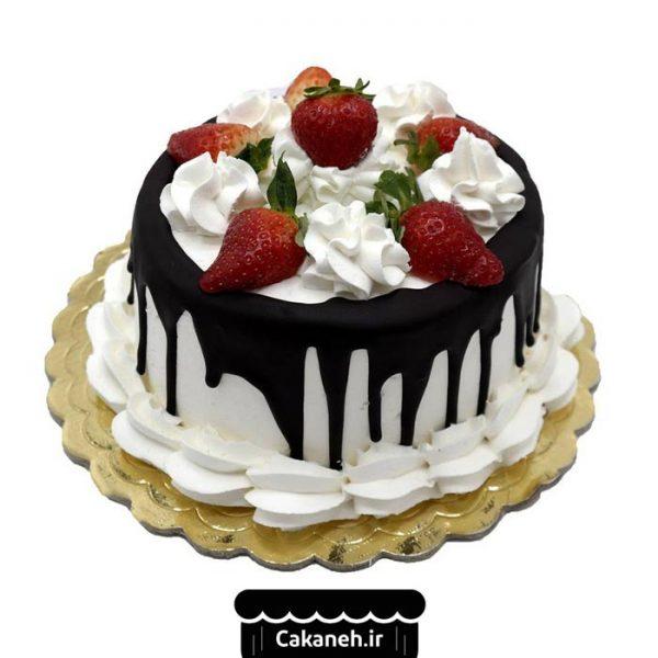 کیک تولد ویترینی - کیک تولد چکهای - سفارش کیک تولد - کیک تولد در اصفهان