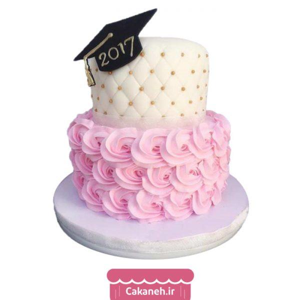 کیک فارغ التحصیلی - کیک طبقاتی - سفارش کیک تولد - کیک تولد در اصفهان