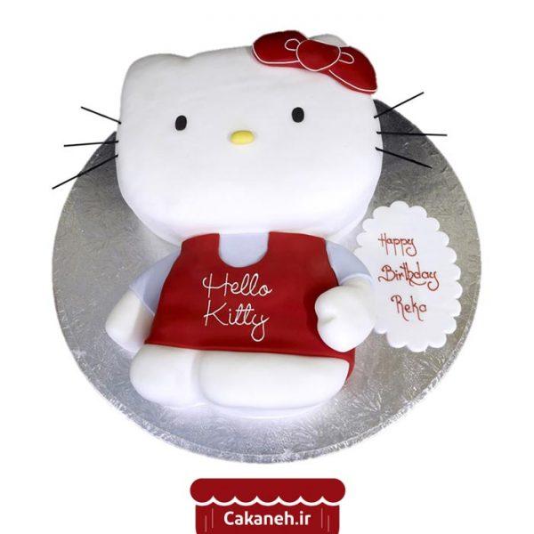 کیک تولد کیتی - کیک تولد کودک - سفارش کیک تولد - کیک تولد در اصفهان