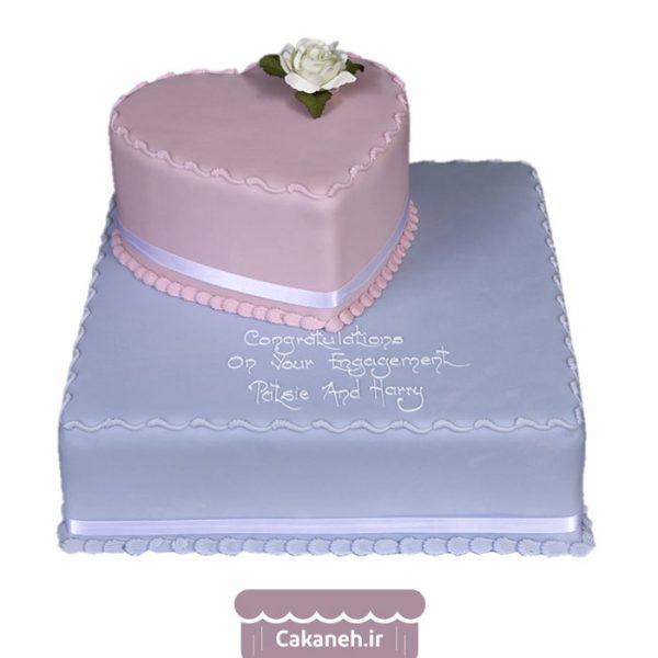 کیک سالگرد ازدواج - کیک قلب - سفارش کیک تولد - کیک تولد در اصفهان