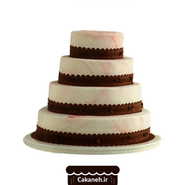 کیک طبقاتی - سفارش کیک تولد - کیک تولد در اصفهان
