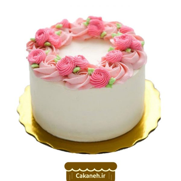 کیک گل - کیک روز مادر - سفارش کیک تولد - کیک تولد در اصفهان