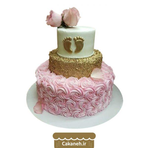 کیک طبقاتی - کیک جشن سیسمونی - کیک تولد - سفارش کیک تولد - کیک تولد در اصفهان