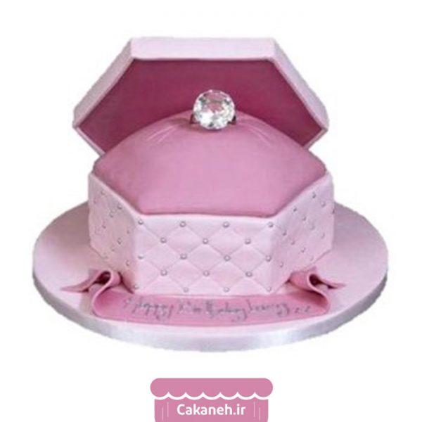 کیک تولد دخترانه - کیک تولد زنانه - سفارش کیک تولد - کیک تولد در اصفهان - کیک جواهرات