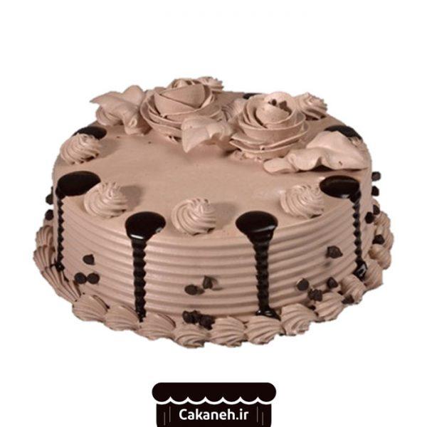 کیک تولد چکهای - کیک تولد ویترینی - سفارش کیک تولد - کیک تولد در اصفهان