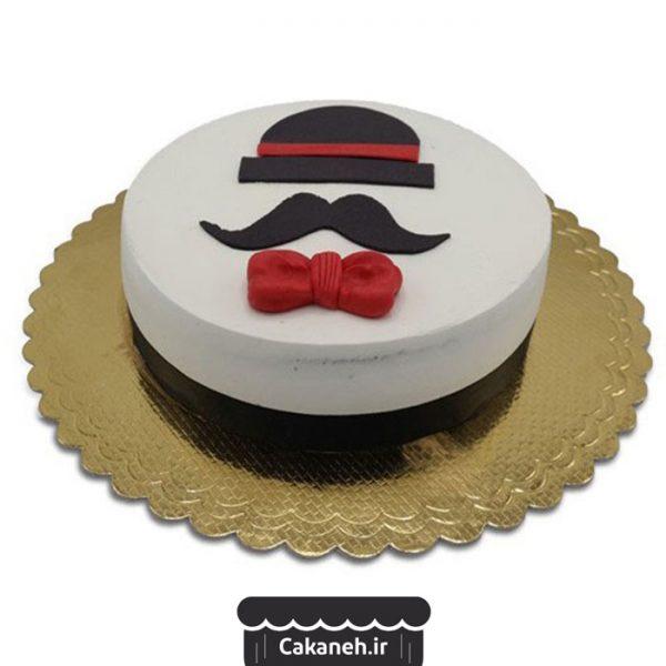 کیک سبیل - کیک روز پدر - کیک روز مرد - سفارش کیک تولد - کیک تولد در اصفهان