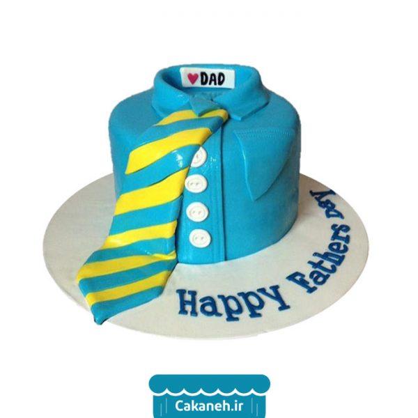 کیک کروات - کیک روز پدر - کیک روز مرد - سفارش کیک تولد - کیک تولد در اصفهان
