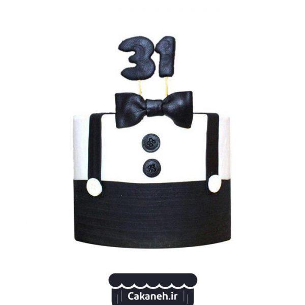 سفارش کیک تولد پسرانه - خرید کیک تولد مردانه - کیک مرد خوش تیپ - سفارش کیک اصفهان