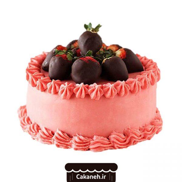 کیک تولد ساده - کیک تولد ویترینی - سفارش کیک تولد - کیک تولد در اصفهان