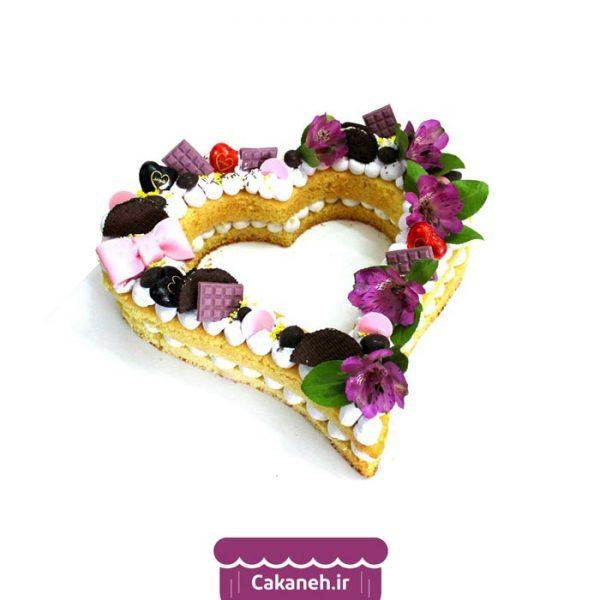 کیک سابله - کیک قلب - کیک عاشقانه - کیک رمانتیک - کیک خانگی - سفارش کیک تولد - کیک تولد در اصفهان