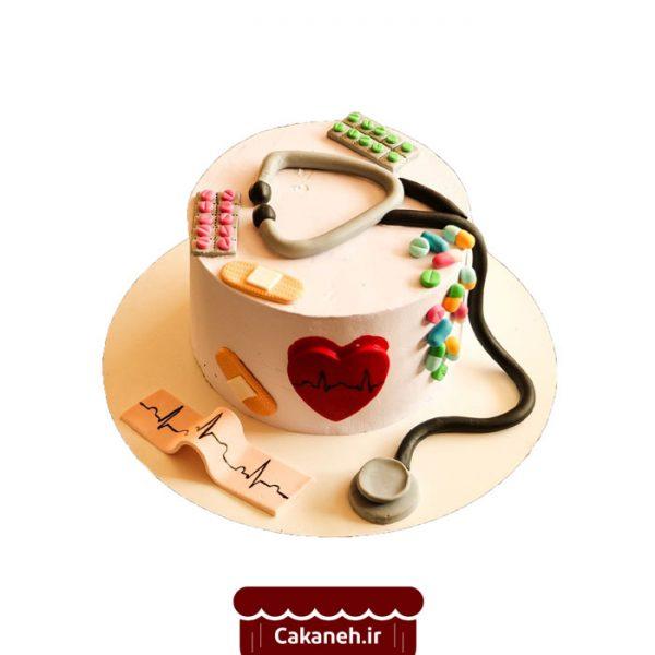 کیک پزشکی - کیک خانگی - کیک تولد - سفارش کیک تولد - کیک تولد در اصفهان