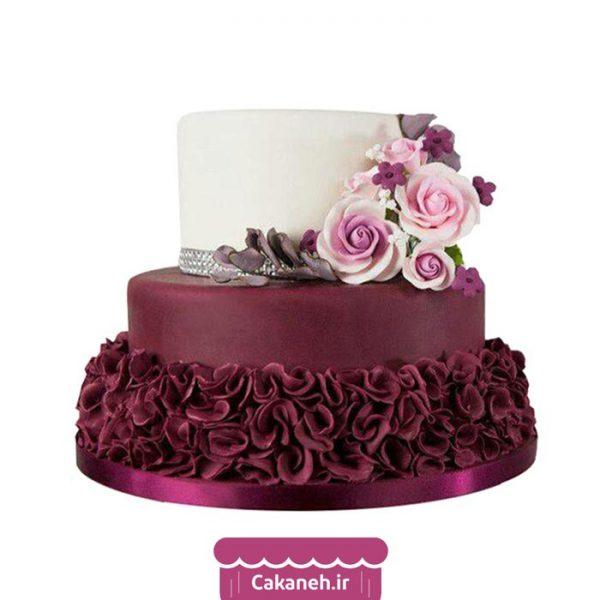 کیک تولد گل - کیک خانگی - کیک عقد - کیک تولد - سفارش کیک تولد - کیک تولد در اصفهان