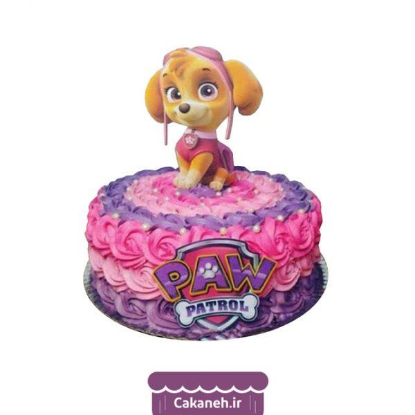 کیک سگهای نگهبان - کیک کارتونی - کیک تولد کودک - کیک خانگی - کیک تولد - سفارش کیک تولد - کیک تولد در اصفهان